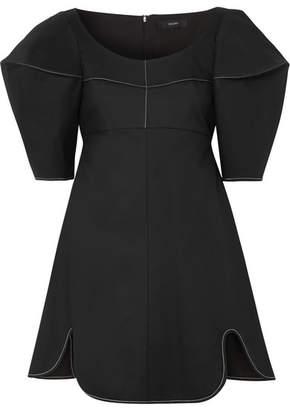 Ellery Utopian Fantasy Cotton-twill Mini Dress - Black