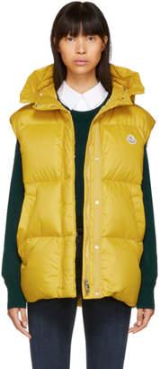 Moncler Yellow Cheveche Down Vest