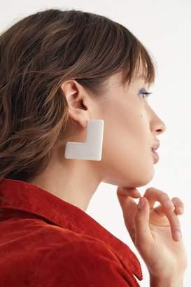 Urban Outfitters Sera Resin Block Earring