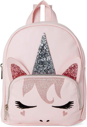 Omg! Accessories Blush Unicorn Critter Mini Backpack