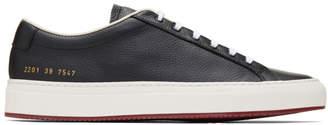 Common Projects Black Original Achilles Premium Low Sneakers