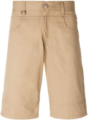 Publish stitch detail chino shorts