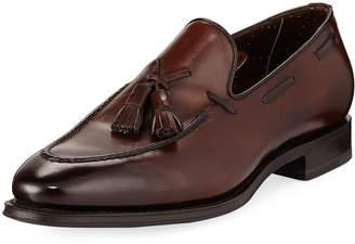 Santoni Duke Leather Tassel Loafer