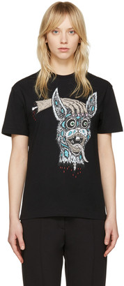 McQ Alexander McQueen Black 'Bring Me the Head of the Bunny' T-Shirt $170 thestylecure.com