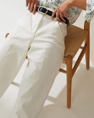 Jigsaw Hoxton Wide Leg Cropped Jeans