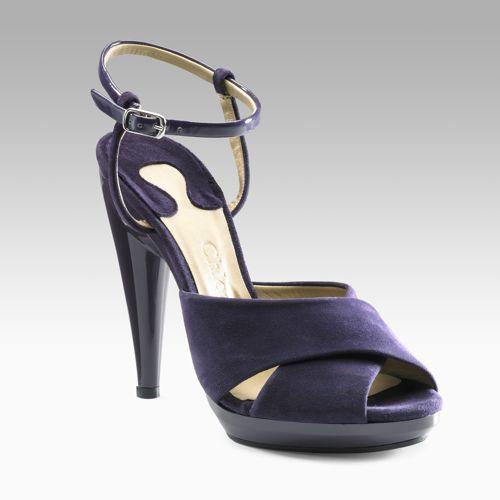 Chloe Suede Criss Cross Sandals