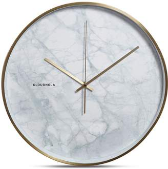 Apt2B Structure Wall Clock by Cloudnola MARBLE