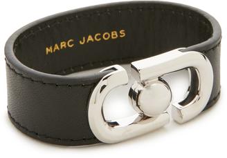 Marc Jacobs Icon Leather Magnet Bracelet $125 thestylecure.com