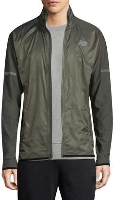 New Balance Men's Zip Front Transit Jacket