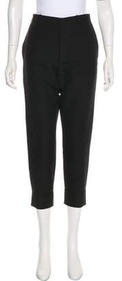 Marni Cropped High-Rise Pants