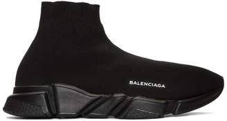 Balenciaga Black Speed Sneakers