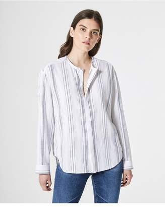 AG Jeans The Carla Shirt - White/Navy
