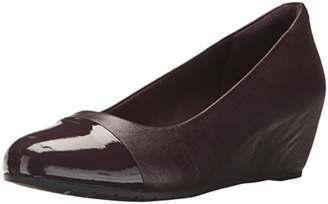 Clarks Women's Vendra Dune Wedge Pump