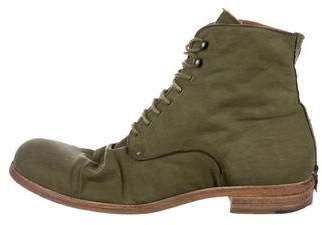 Shoto Herringbone Ankle Boots