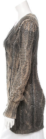 Avant ToiAvant Toi Cable Knit Scoop Neck Sweater w/ Tags