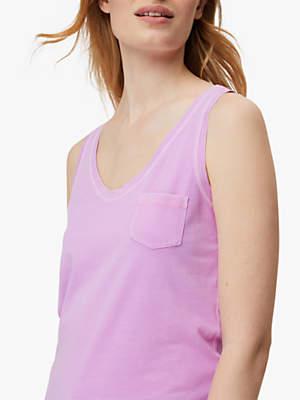 White Stuff Casual Tank Jersey Vest, Purple