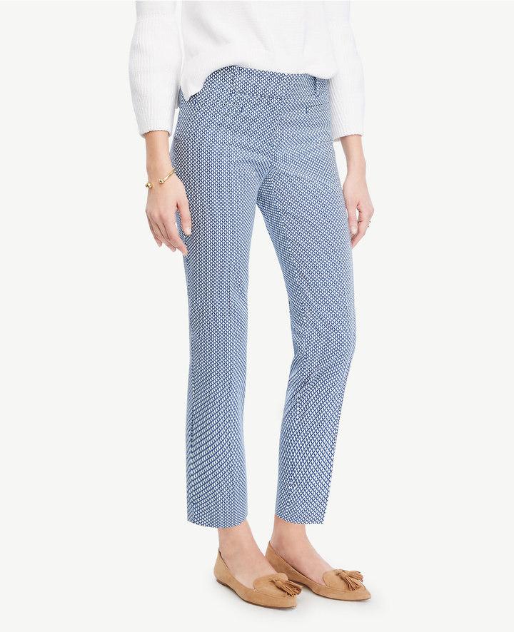 Ann TaylorTall Devin Mosaic Cropped Pants