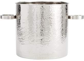 Pottery Barn Hammered Nickel Ice Bucket