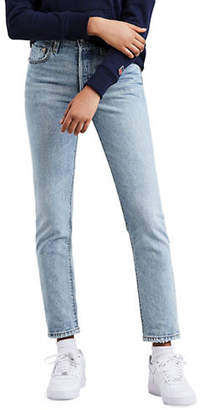 Levi's 501 Lovefool Cotton Skinny Jeans