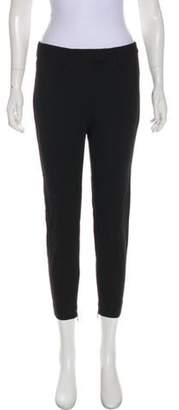 Alexander McQueen Mid-Rise Cropped Pants Black Mid-Rise Cropped Pants