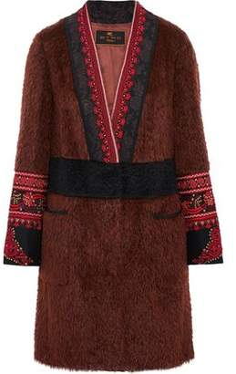 Etro Embellished Mohair And Wool-Blend Jacket