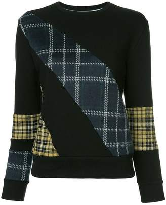 GUILD PRIME check panel sweatshirt