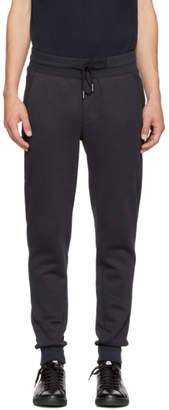 Moncler Navy Fleece Lounge Pants