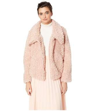 a070a14b7a Bishop + Young Cropped Faux Fur Jacket