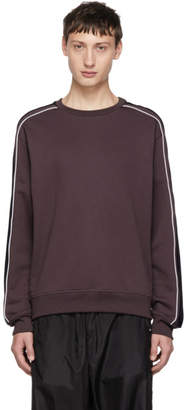 3.1 Phillip Lim Purple Panelled Sweatshirt