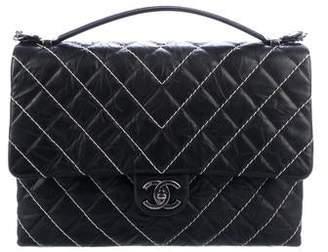 Chanel 2016 Large Chevron Flap Bag
