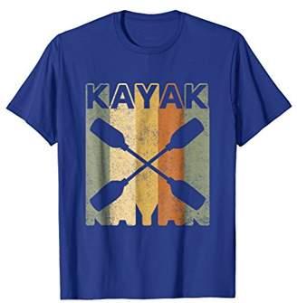 Vintage Retro Kayak T-Shirt Kayak Lover Tee Shirt