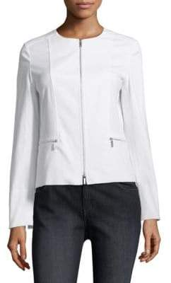 Lafayette 148 New York Noel Cotton Stretch Jacket