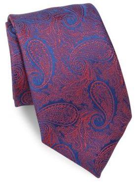 CharvetCharvet Paisley Silk Tie