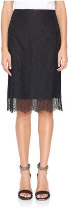 Nina Ricci Leavers Lace Skirt