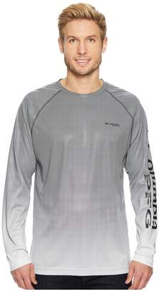 Columbia Solar Shade Printed Long Sleeve Top Men's Long Sleeve Pullover