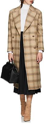MM6 MAISON MARGIELA Women's Convertible Checked Wool Coat