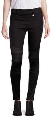 True Religion Runway Moto Leggings $199 thestylecure.com