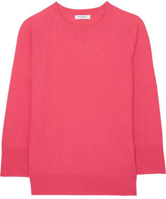 Equipment Desi Cotton And Cashmere-blend Sweater