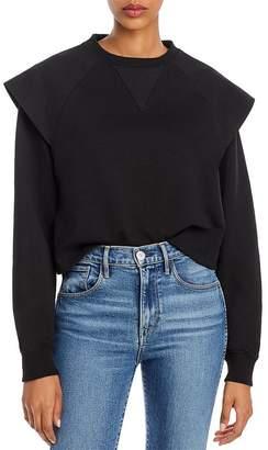 Rebecca Minkoff Zenya Flared-Shoulder Sweatshirt