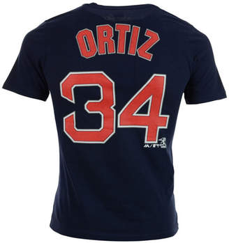 Majestic Kids' David Ortiz Boston Red Sox Official Player T-Shirt