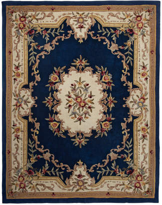 "Km Home Closeout! Km Home Majesty Aubusson 2'6"" x 8' Runner Rug, Created for Macy's"
