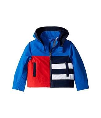 Tommy Hilfiger Adaptive Hooded Colorblock Jacket (Little Kids/Big Kids)