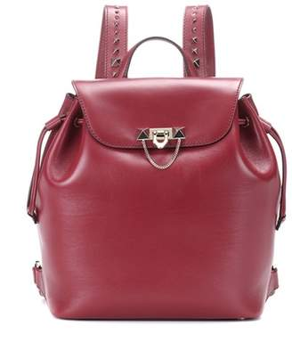 Valentino Demilune Medium leather backpack