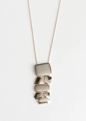 And other stories Hanging Pendant Necklace
