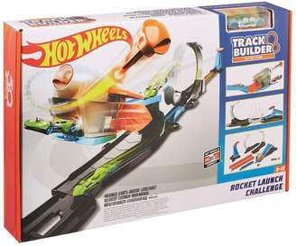 Hot Wheels Track Builder Rocket Launch Challenge Play Set