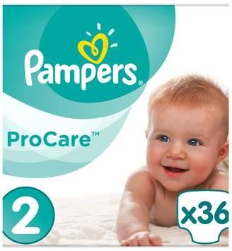 Pampers size 2 Procare Premium Protection nappies 4-8kg 36s