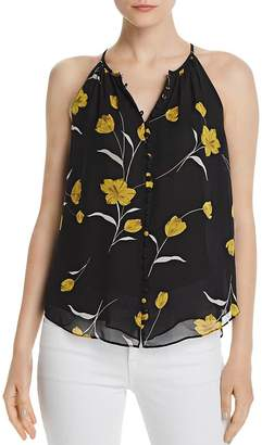 Joie Galletha Sleeveless Silk Floral Blouse