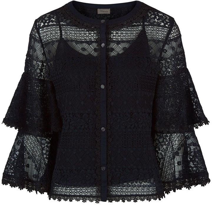 Black Lace Blouse Shopstyle 27