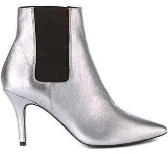 79463bc83b05 Mint Velvet Zara Silver Kitten Heel Boot