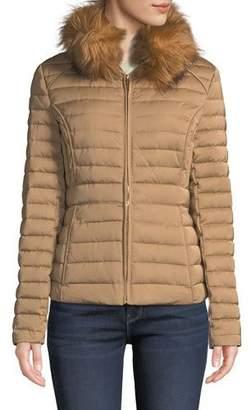 Hunter Refined Faux-Fur Puffer Jacket